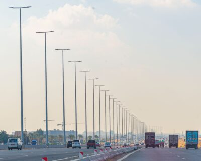 Supply & Fabrication of lighting poles for Misr Ismailia highway.